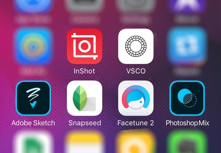 крутые приложения на айфон для обработки фото это