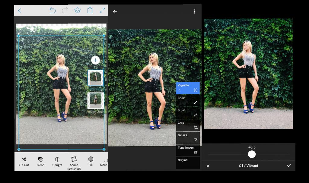 качественная обработка снимков в инстаграм
